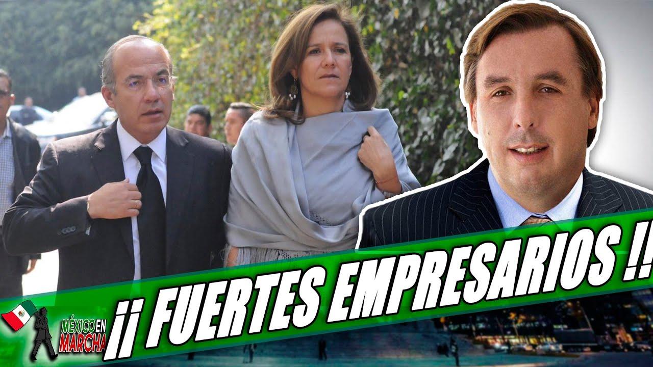Destapan Lista De Empresarios Que Financian Partido De Calderón: Encuentran A Uno Q Planeó Ataque!!