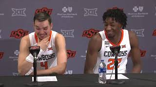 OSU Basketball: Dziagwa and Boone on loss to Texas