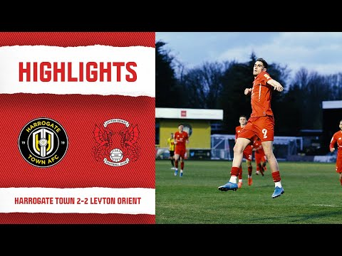 Harrogate Leyton Orient Goals And Highlights