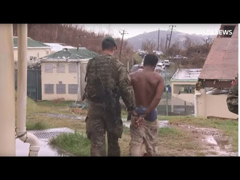 Hurricane Irma: Escaped prisoners recaptured on British Virgin Islands