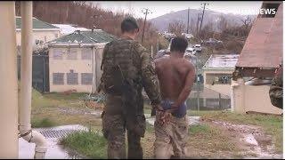 Hurricane Irma: Escaped prisoners recaptured on British Virgin Islands