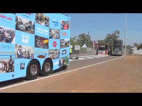 V8 Supercar Transporter Convoy