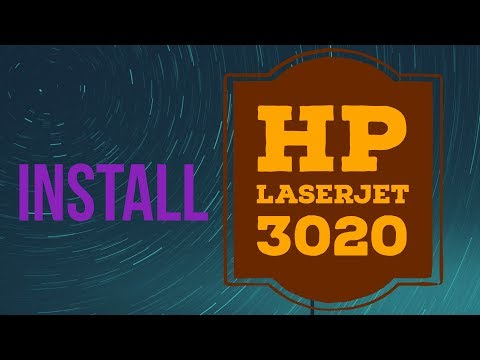 How To Install Hp Laserjet 3020 Printer Driver On Windows 7 And Windows 10 32 Bit And 64 Bit