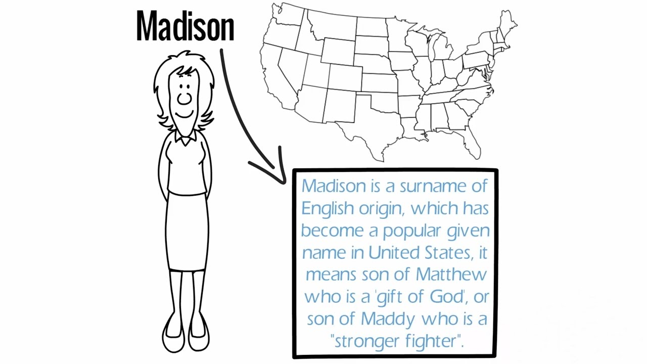 Name meaning madison
