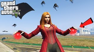 Scarlet witch has some of the coolest powers in GTA 5 My Discord ▻ ...