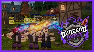 #41 🔴 ROBLOX DUNGEON QUEST LIVE *NEW UPDATE* THE CANALS LEGENDARY GRIND