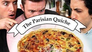 Delicious Parisian Quiche ! Feat. The Vagabrothers