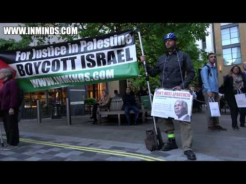 London Protests Israel Funded Seret 2018 Film Festival - Free  Palestinian Poet Dareen Tatour