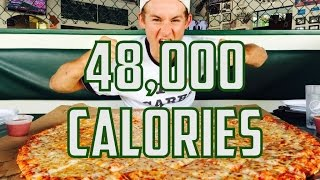48,000 Calories In 48 Hours | Eriktheelectric