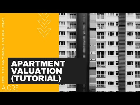 Apartment Valuation Tutorial Using the Excel Real Estate Acquisition Model