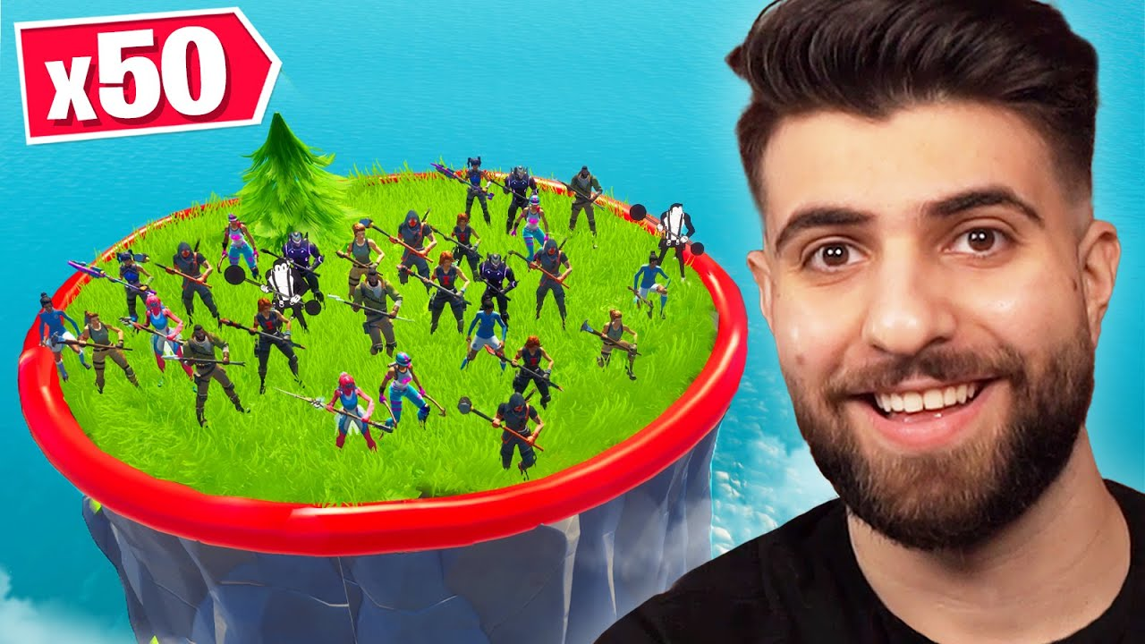 Last To Leave Circle in Fortnite Wins 10,000 VBucks!
