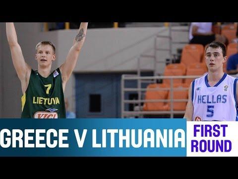 Greece v Lithuania - Highlights Group A - 2014 U20 European Championship