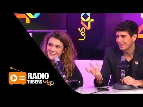 Amaia y Alfred de OT en Radiotubers