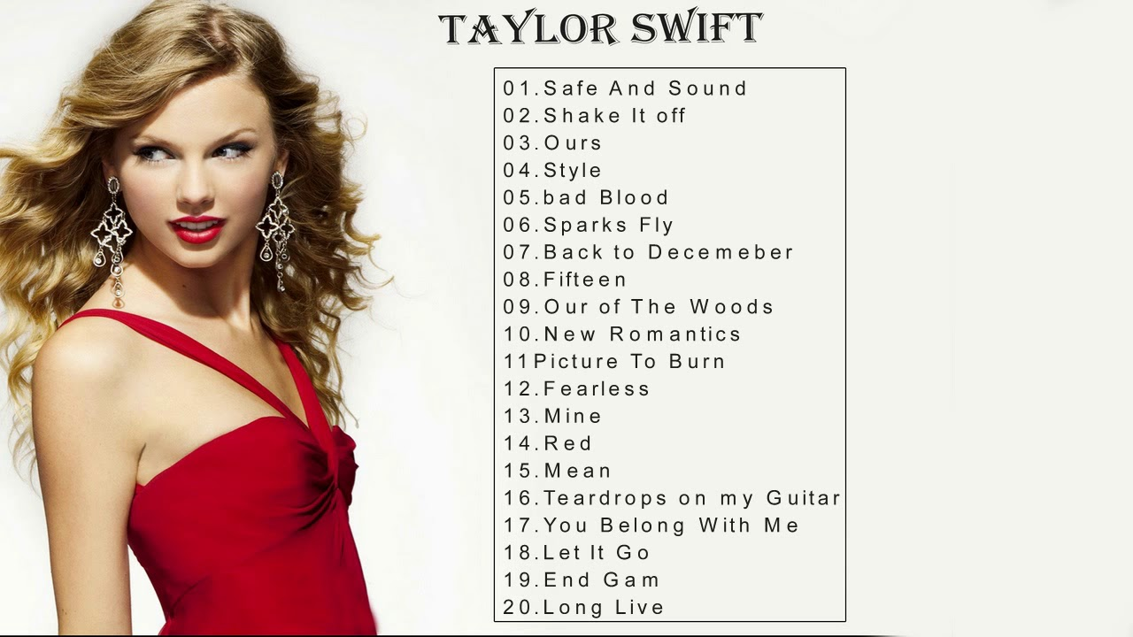 Taylor Swift Greatest Hits Reggae Songs 2018 Taylor Swift Mix Playlist Youtube