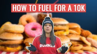 How To Fuel For A 10k Running Race | What To Eat Before, During And After A 10k