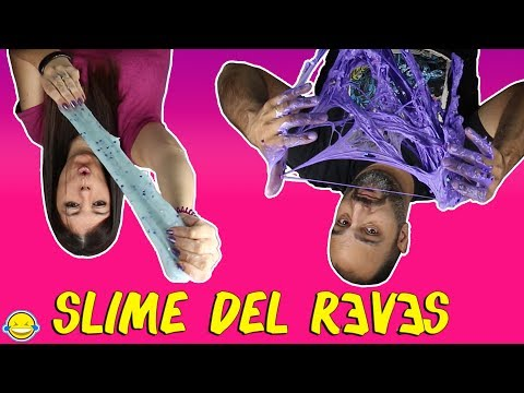 REVERSE SLIME MAKING CHALLENGE BACKWARDS DIY. Slime del reves Tutorial Satisfying ASMR