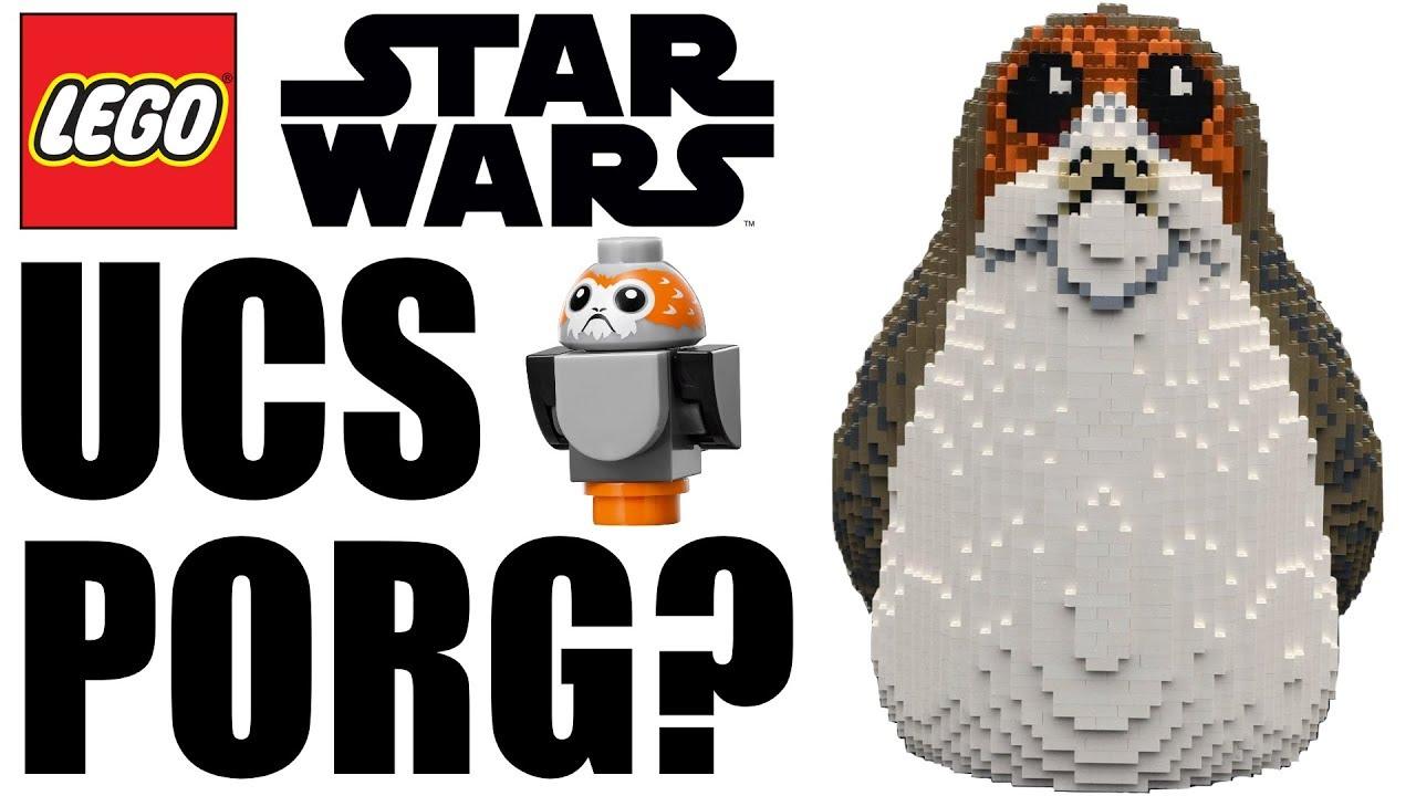 LEGO UCS PORG IN 2018? (LEGO Star Wars 75230?) - YouTube
