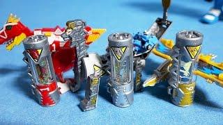 파워레인저 다이노포스 변신 다이노셀 3종류 또봇 y 미니 장난감 power rangers dino charge kyoryuger toys tobot