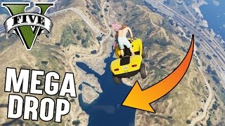 AQUA BLAZER MEGA DROP (+DOWNLOAD) | GTA 5 - CUSTOM MAP RENNEN