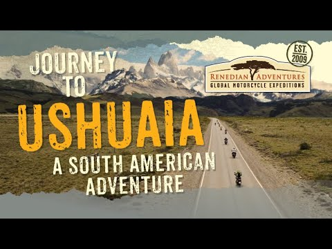 """Motorcycle Tour Highlights – South America. """"Journey to Ushuaia""""   