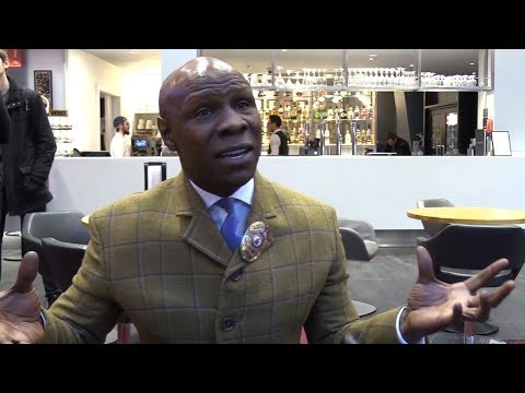 Chris Eubank Interview - Talks About His Son's World Boxing Series Fight Against George Groves