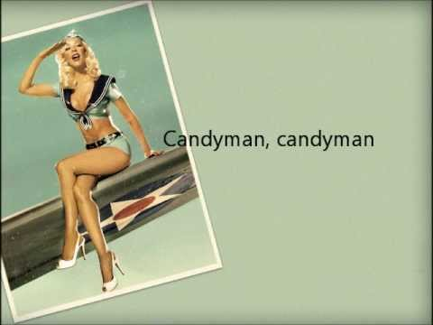 Christina Aguilera - Candyman (Lyrics)