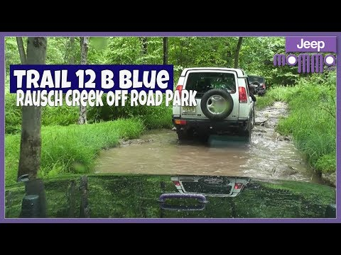 Trail 12 B Blue in my Jeep Wrangler at Rausch Creek Off Road Park
