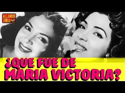 QUE FUE DE MARIA VICTORIA!! Actriz y Cantante