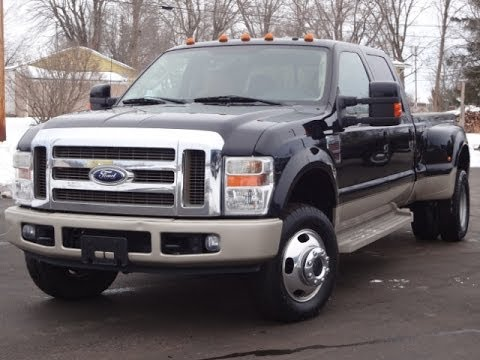 King Ranch Ford >> 2008 Ford F350 King Ranch DRW POWERSTROKE SOLD!!! - YouTube