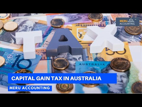 Capital Gain Tax In Australia