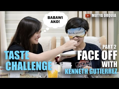 TASTE CHALLENGE FACE OFF, BABAWI AKO KAY KENNETH! PART 2