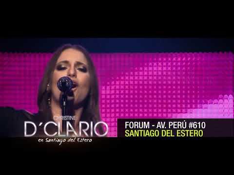 Christine D'Clario en Santiago Del Estero Argentina