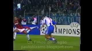Porto Fc - AC Milan 1-1, Champions League, 20th Nov 1996