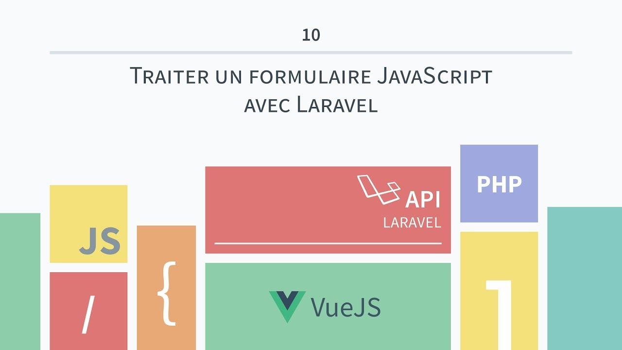 Download [VueJS & API Laravel 10] Traiter un formulaire JavaScript avec Laravel