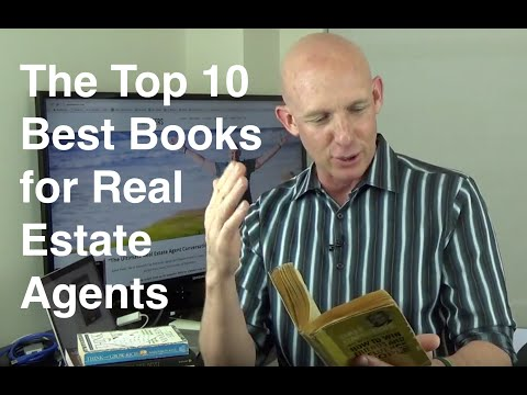 Top 10 Best Must-Read Books for Real Estate Agents from Kevin Ward