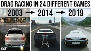 Drag Racing In 24 Different Games  2003 - 2019