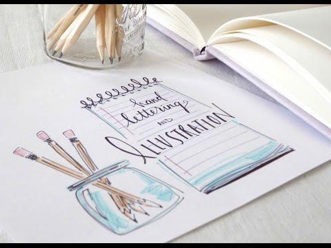 Hand Lettering  Illustration for Beginners