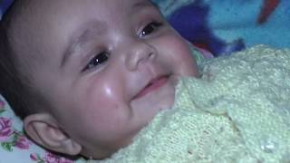 Cute baby smile Angelina
