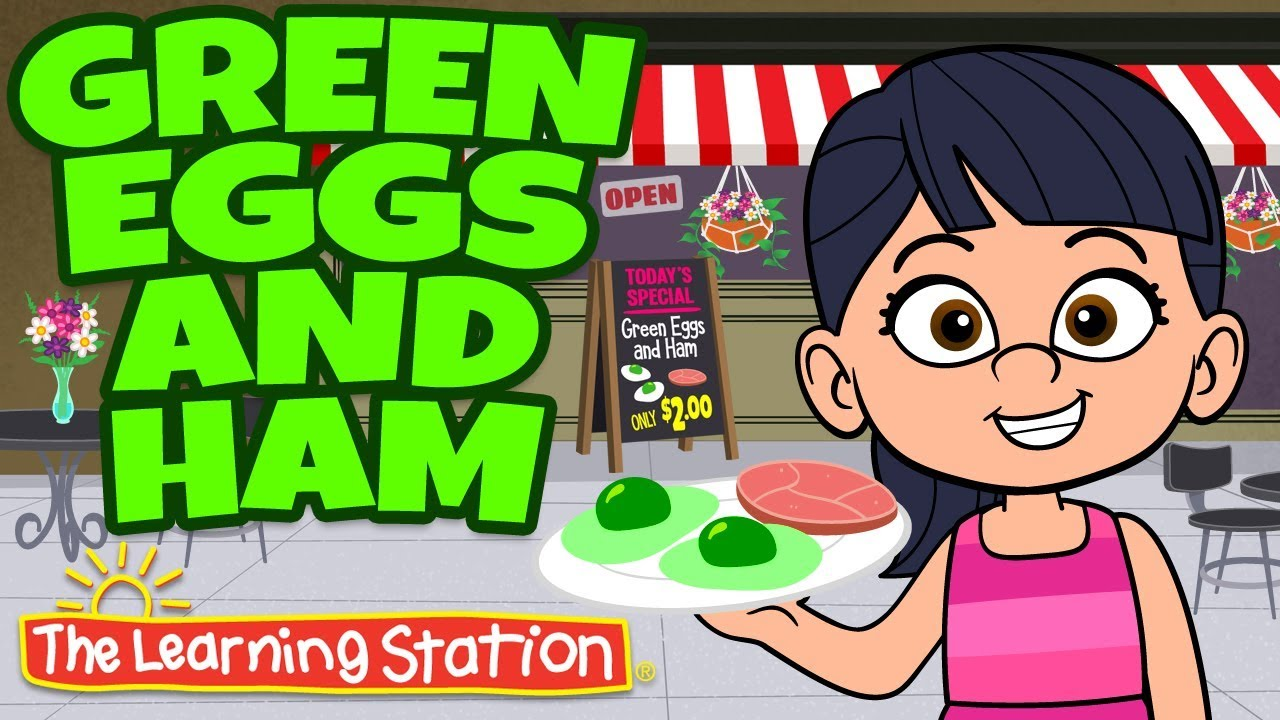 photo regarding Green Eggs and Ham Printable identify Head Breaks ♫ Motion Tune Children ♫ Inexperienced Eggs and Ham Tune ♫ Easiest Children New music ♫ The Finding out Station