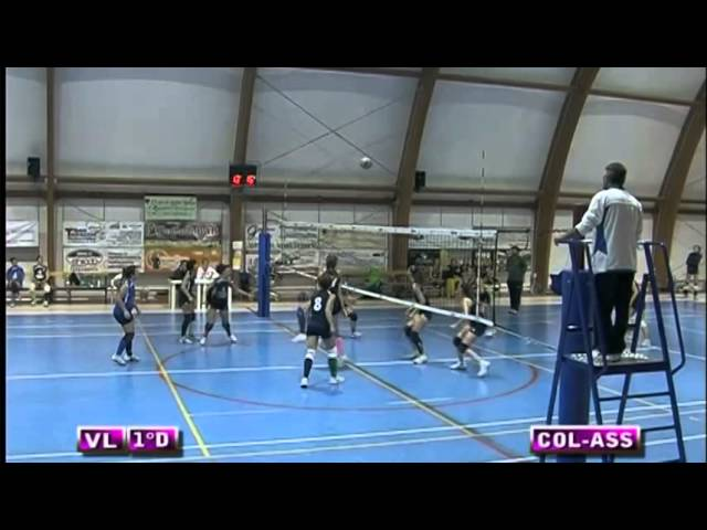 Colonnetta vs Assport Roma 3 Piva - 4° Set