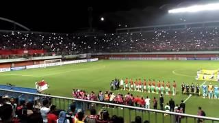 Amazing Atmosphere Indonesia vs Puerto Rico di Stadion Maguwoharjo Sleman