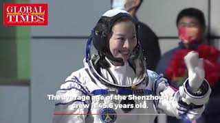 First female taikonaut enters China's space station core module