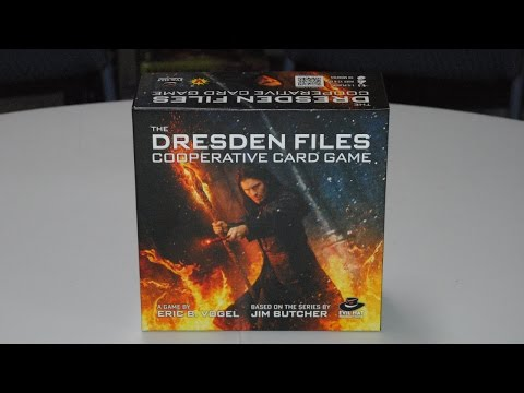 Dresden Files Cooperative Card Game (Explanation, Play-through, & Review)