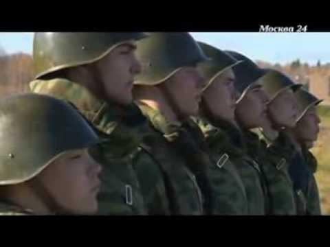 Как готовятся Кремлёвские курсанты.
