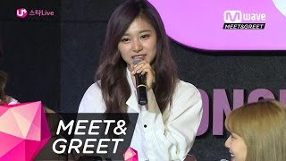 [MEET&GREET] TWICE's Scramble For The Desired Part in 'TT'!