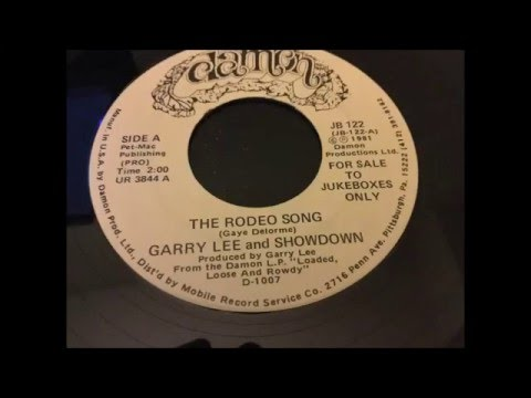 "Garry Lee & Showdown - ""The Rodeo Song"" (1981)"