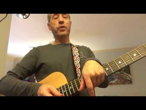 Simple guitar - syncopated strum #2 and Midnight Special