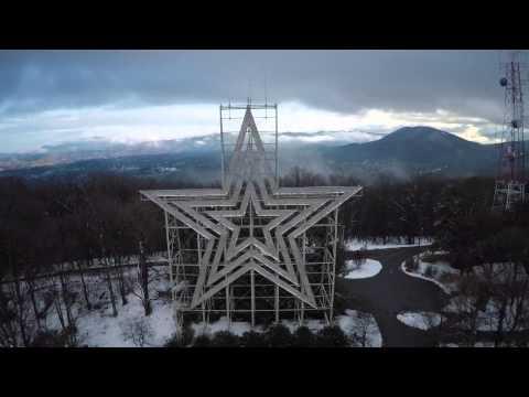 Roanoke, VA - The Star City shines bright