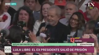 Habla Lula da Silva tras salir libre de prisión: