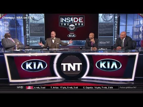 Shaq and Barkley can't stop laughing over Rockets-Clippers locker room incident | ESPN